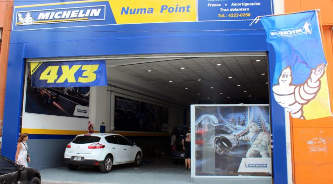 Michelin   inaugura tres nuevos centros de venta