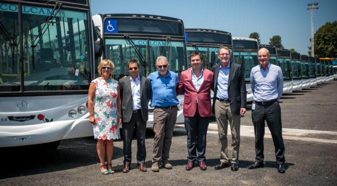 Mercedes-Benz | número uno mundial de buses visitó Argentina