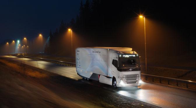 Concept Truck |Volvo | prueba cadena cinemática híbrida