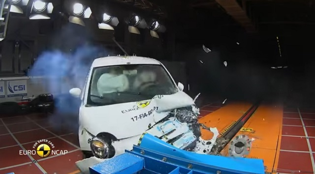 Euro NCAP | Crash Test | Fiat 500 europeo