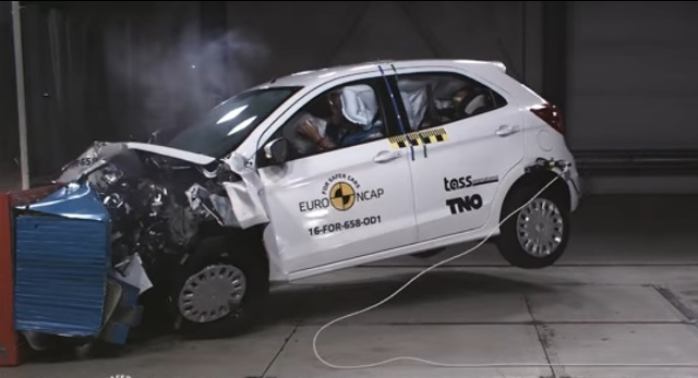 Euro NCAP | Crash Test | Ford Ka+ Europa