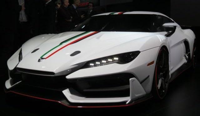 Zerouno | Italdesign| un proyecto del Grupo VW y Lamborghini en Ginebra 2017