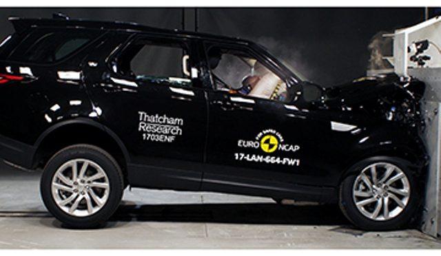 EuroNCAP | Crash Test | Land Rover Discovery, SUV premium y eficiente