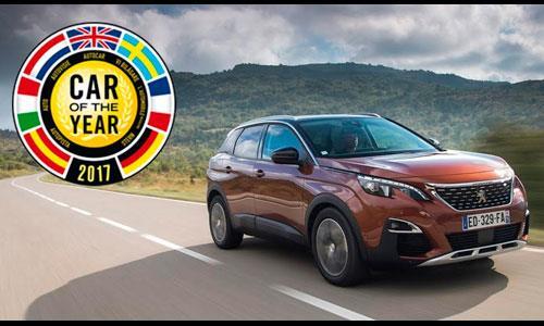 3008 | Peugeot | Auto del Año 2017 en Europa