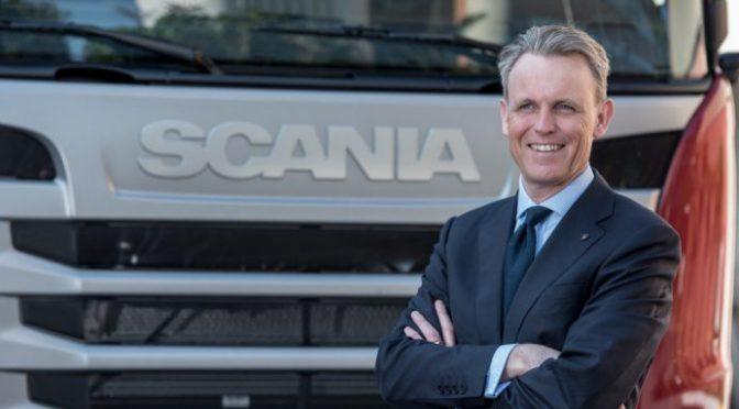 Scania   nuevo presidente para operaciones comerciales en América