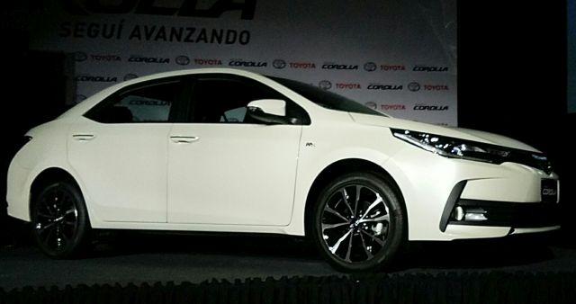 Corolla 2017   Toyota   lanza un update del exitoso sedán