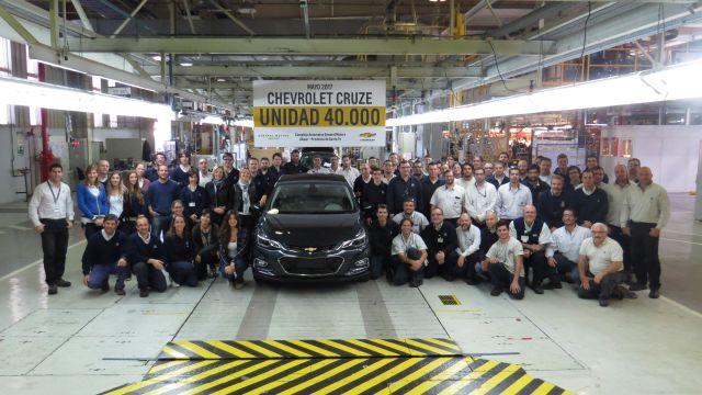 Cruze | Chevrolet | 40.000 unidades fabricadas ya en Argentina