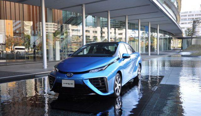 Toyota |  firma acuerdo para construir nuevas estaciones de hidrógeno en Japón