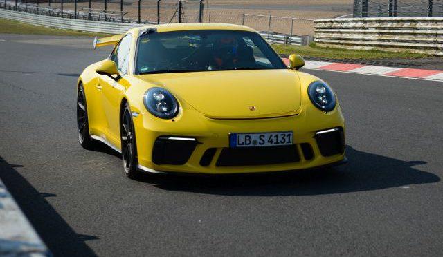 911 GT3 | Porsche | establece nuevo récord de velocidad