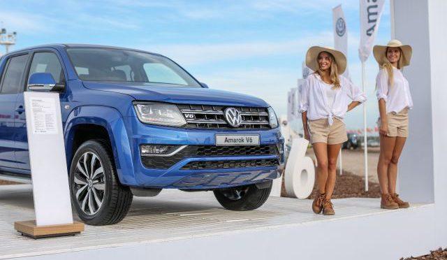 Agroactiva   Volkswagen   presente con varios utilitarios