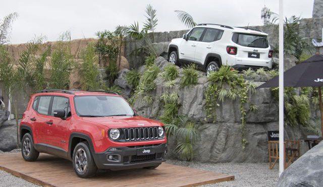 Jeep   una vez mas acompañando al campo en la Exposición Rural