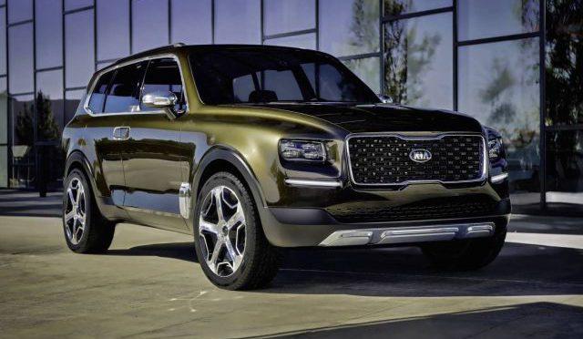 Telluride | Kia | SUV Concept futurista y premiado