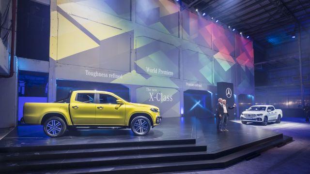 ClaseX   Mercedes-Benz   se presentó la primer pick-up premium
