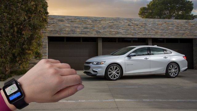 myChevrolet | Chevrolet | presenta la nueva aplicación para Apple Watch