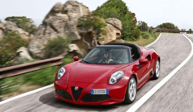 4C | Alfa Romeo | un auto de carrera para la ciudad
