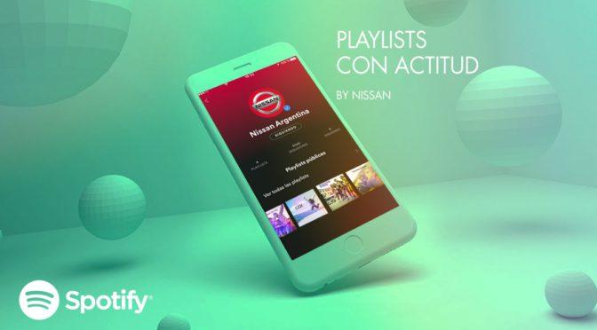 Spotify | Nissan | llega a la multiplataforma de música