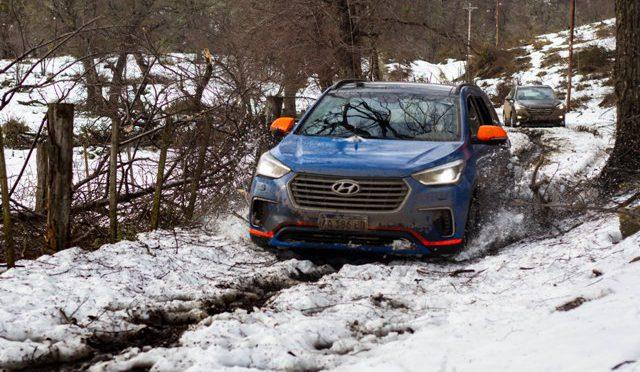 Travesía   Hyundai   caravana para clientes en Chapelco