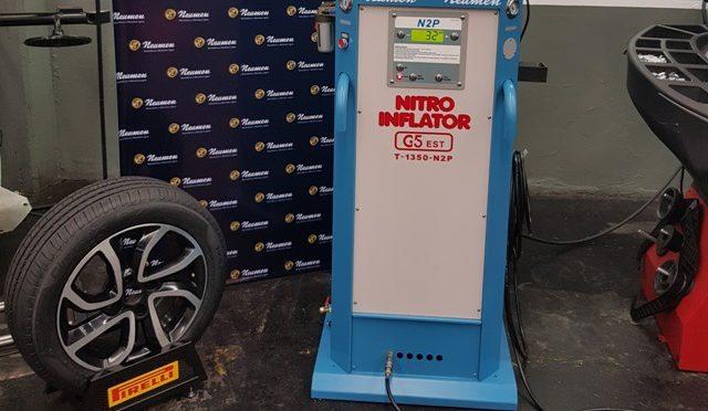 Neumen | presenta el único sistema de inflado con nitrógeno del país