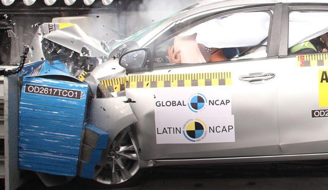 Corolla | Toyota | máxima calificación en seguridad en la LatinNCap