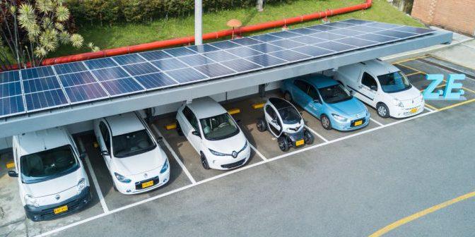Colombia | primer estacionamiento solar del continente americano