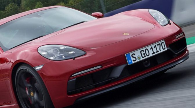 718 GTS | Porsche | ya están los nuevos Boxster y Cayman