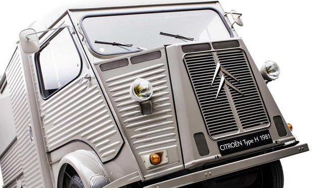 H-Van   Citroen   el padre de los furgones modernos