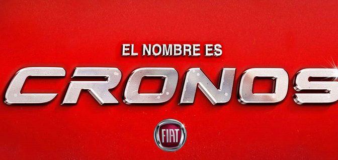 Cronos | Fiat | el nombre del nuevo sedán