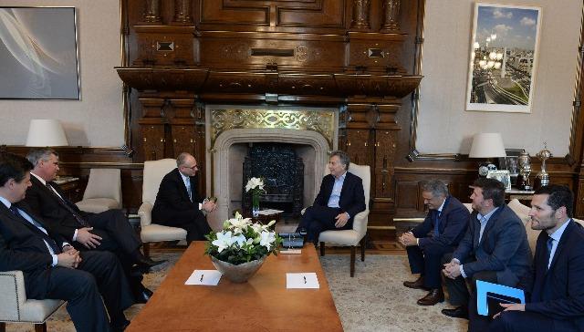 GM | presentó a Macri su plan de inversión