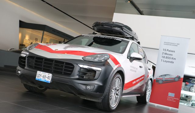 Expedición Cayenne | Porsche | ya comenzó hoy en Uruguay