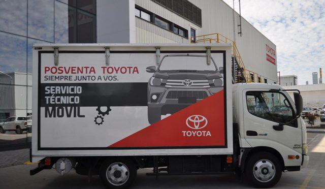 Toyota | servicio técnico móvil en expansión