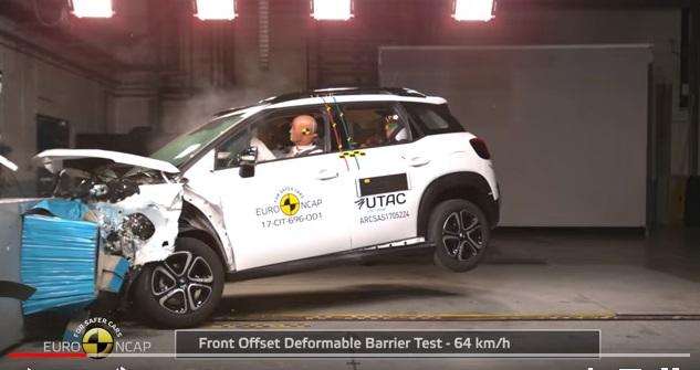 C3 Aircross | Citroën | Euro NCap | el SUV europeo 5 estrellas
