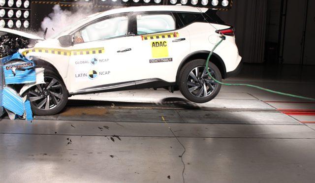 Murano | Nissan | LatinNCap | el SUV premiun logra el máximo puntaje