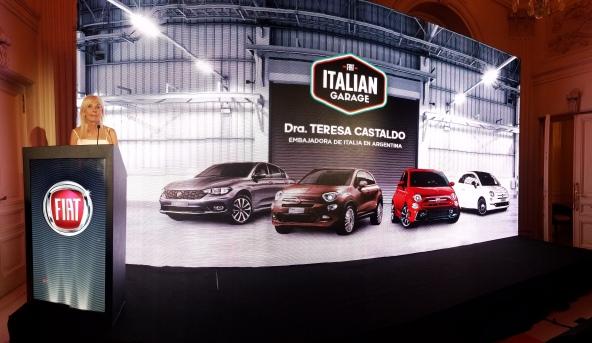 Italian Garage | Fiat | presentó su línea importada