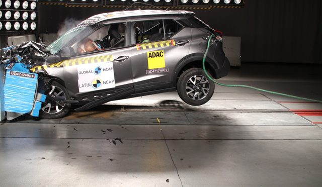 Kicks | Nissan | LatinNCap | el SUV ha sido aprobado