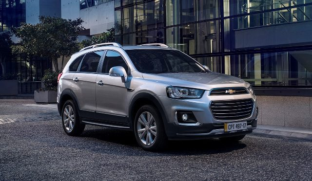 Chevrolet | baja de precios en Captiva y Trailblazer