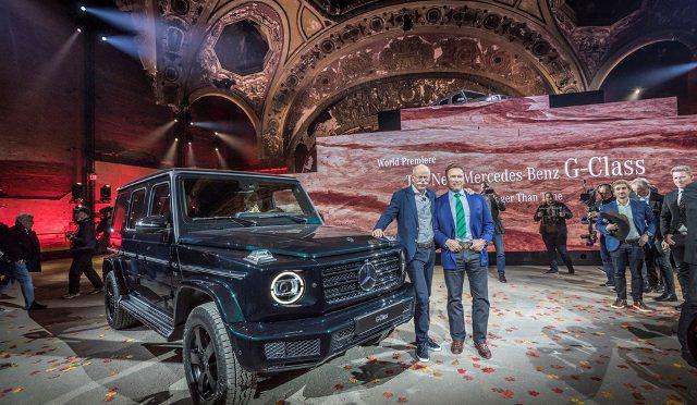 Clase G | Mercedes-Benz | presentada en Detroit por Arnold