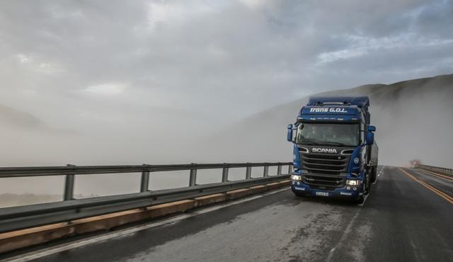 Scania   el camión de las nubes