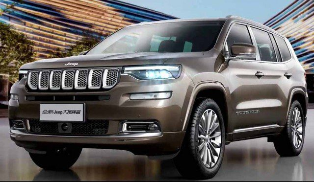 Grand Commander | Jeep | viene un gran SUV para 7