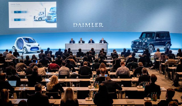 Daimler AG | tuvo un exitoso 2017