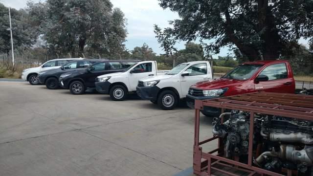 Donación | Toyota | vehículos y motores para capacitación
