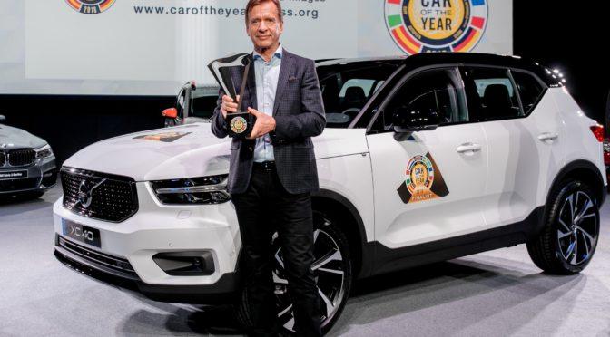 XC40 | Volvo | elegido Auto del Año 2018