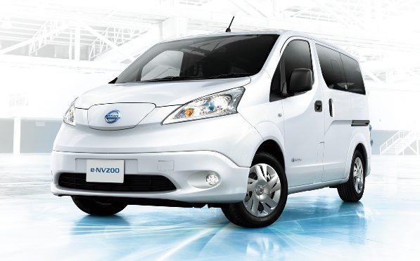 e-NV200   Nissan   se presenta una nueva generación