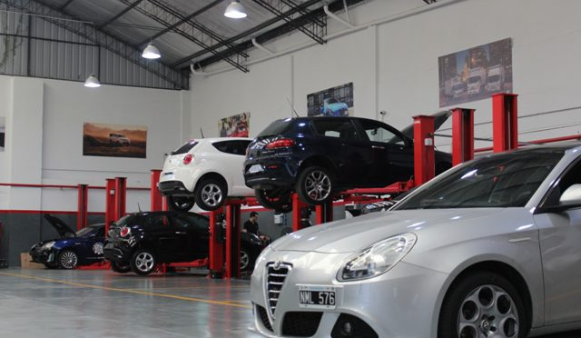 Alfa Romeo   presenta su nuevo centro posventa