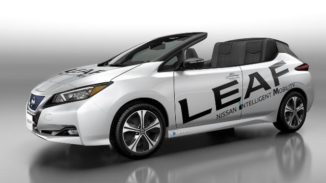 Leaf Cabrio   Nissan   una nueva versión del exitoso eléctrico