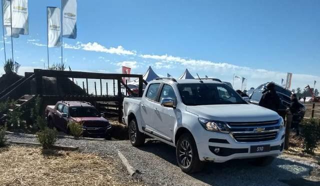 Agroactiva 2018   Chevrolet   expuso al campo su nueva S10 MY19