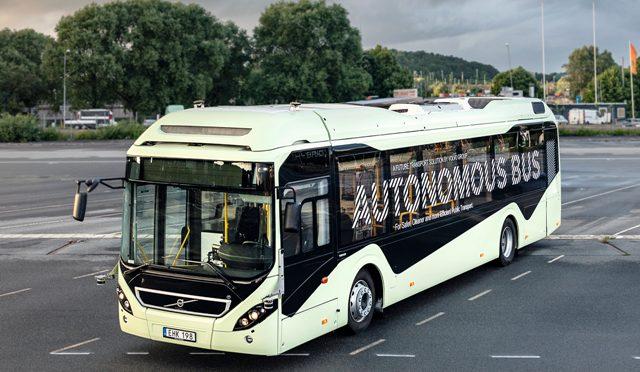 Bus Autónomo | Volvo | demo de la primera unidad