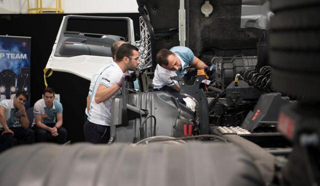 Scania | los mejores mecánicos latinoamericanos son argentinos