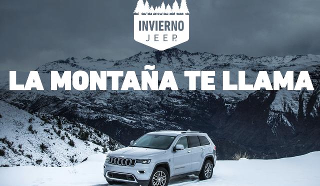 Jeep | Invierno 2018 | destino Bariloche y Las Leñas