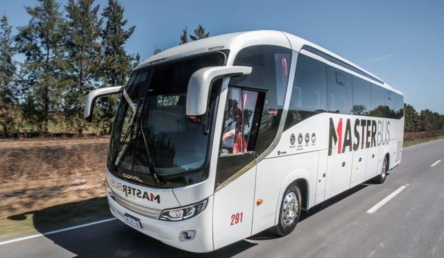 Master Bus   Scania   transporta la carga mas valiosa