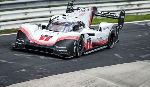 919 Hybrid Evo | Porsche | rompe record en Nürburgring
